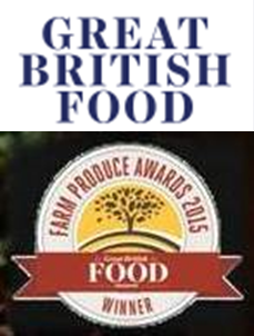 Great British Food with 2015 winner logo