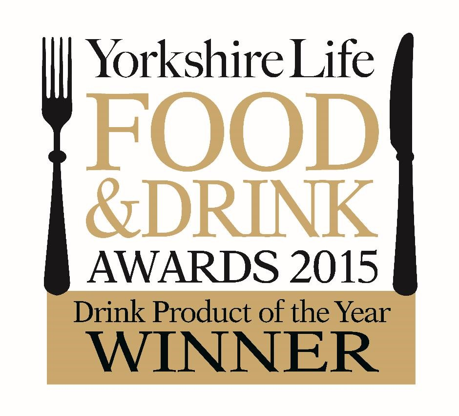 Yorkshire Life 2015 Winner DRINK PRODUCT logo