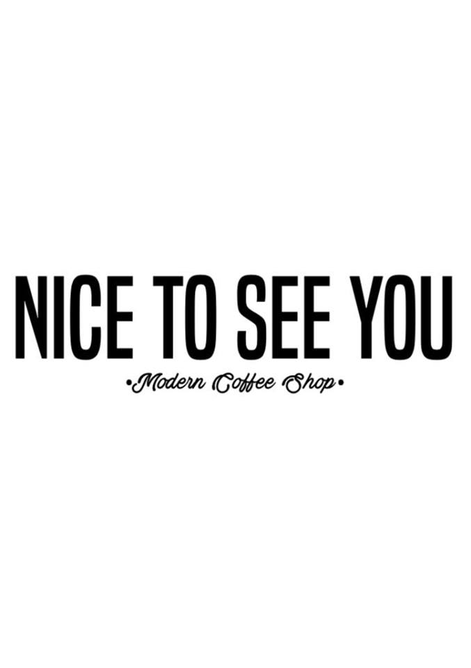 Nice to see you Logo