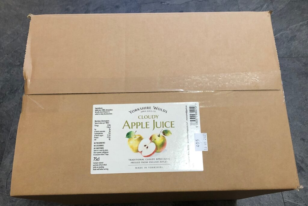 Boxed Up Juice