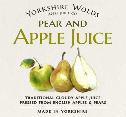 Apple & Pear Label Image
