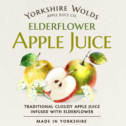 Elderflower Label Image