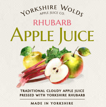 Rhubarb Label Image