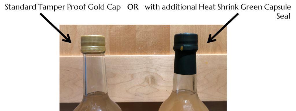 PYO bottle seal options