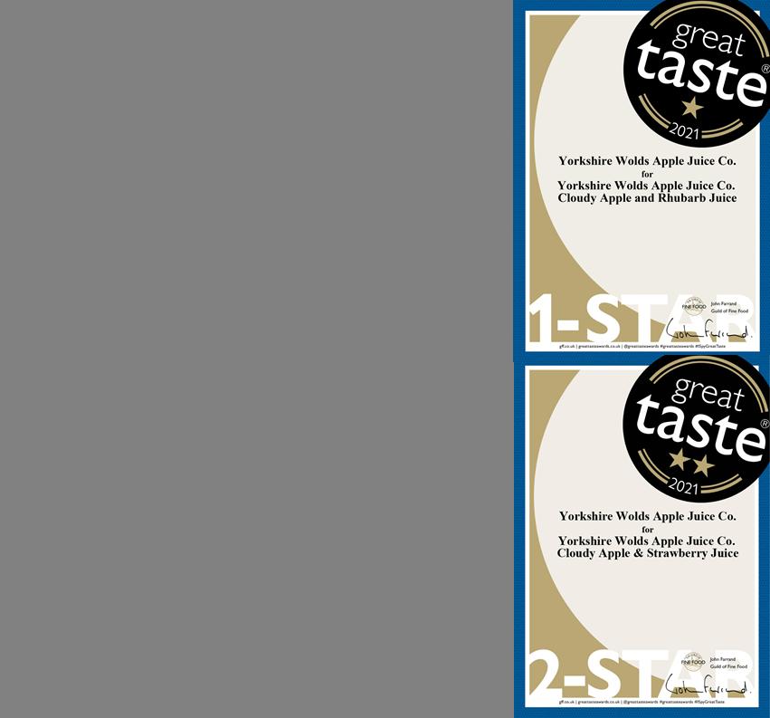 Great taste 2021 certs
